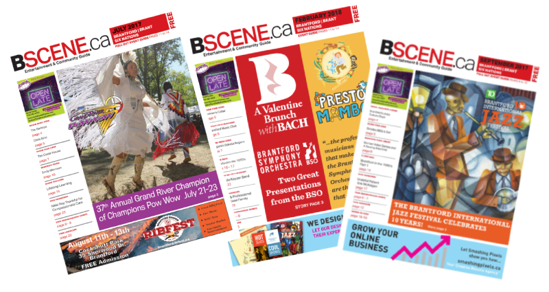image: past issues of BScene