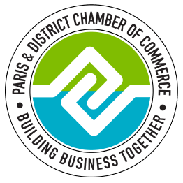 image: Paris & District Chamber of Commerce logo