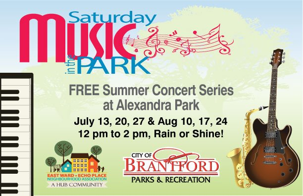 Saturday Music in the Park