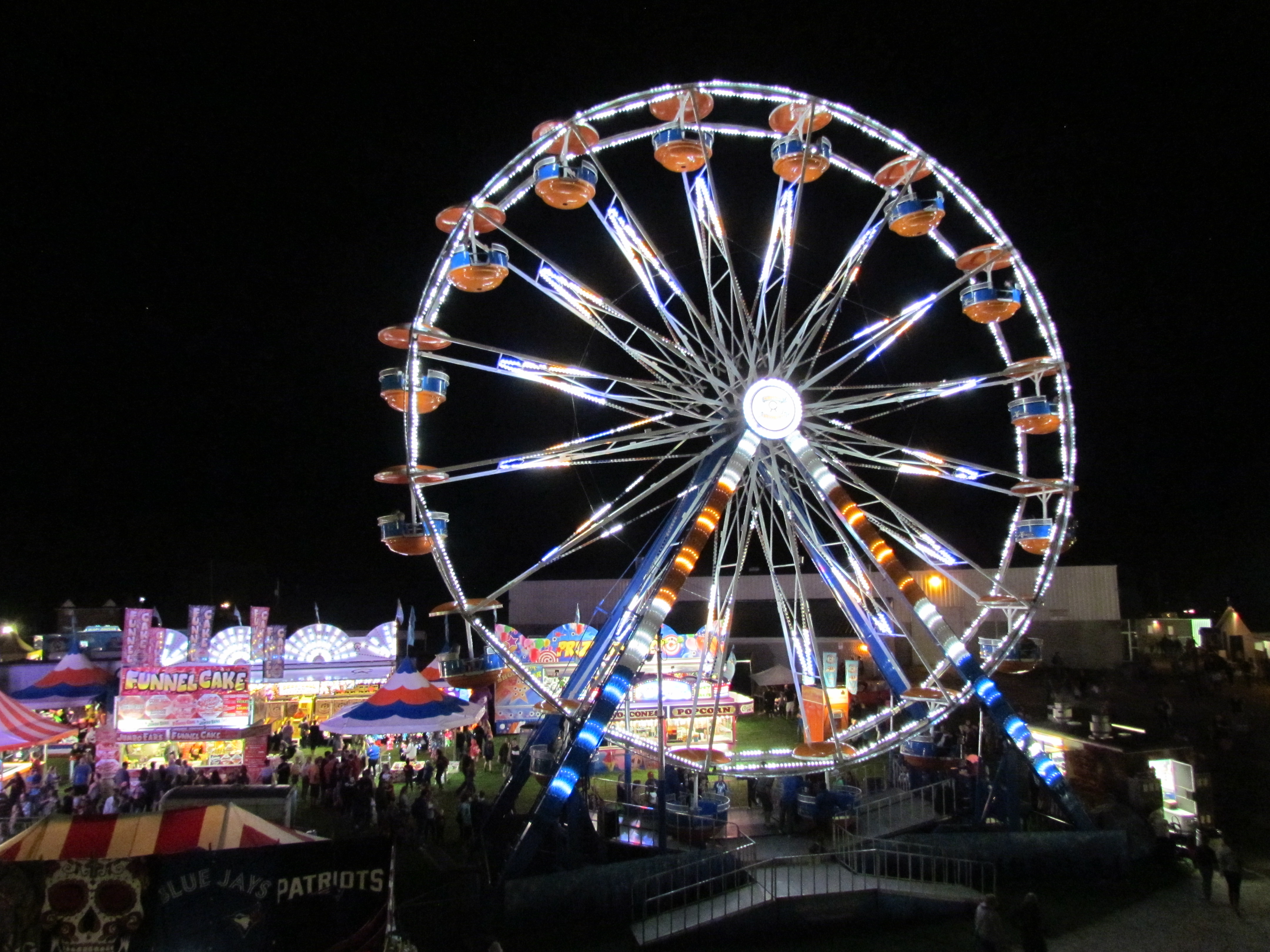 Paris Fair Ferris Wheel