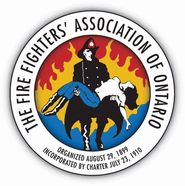 Firefighters Association of Ontario logo