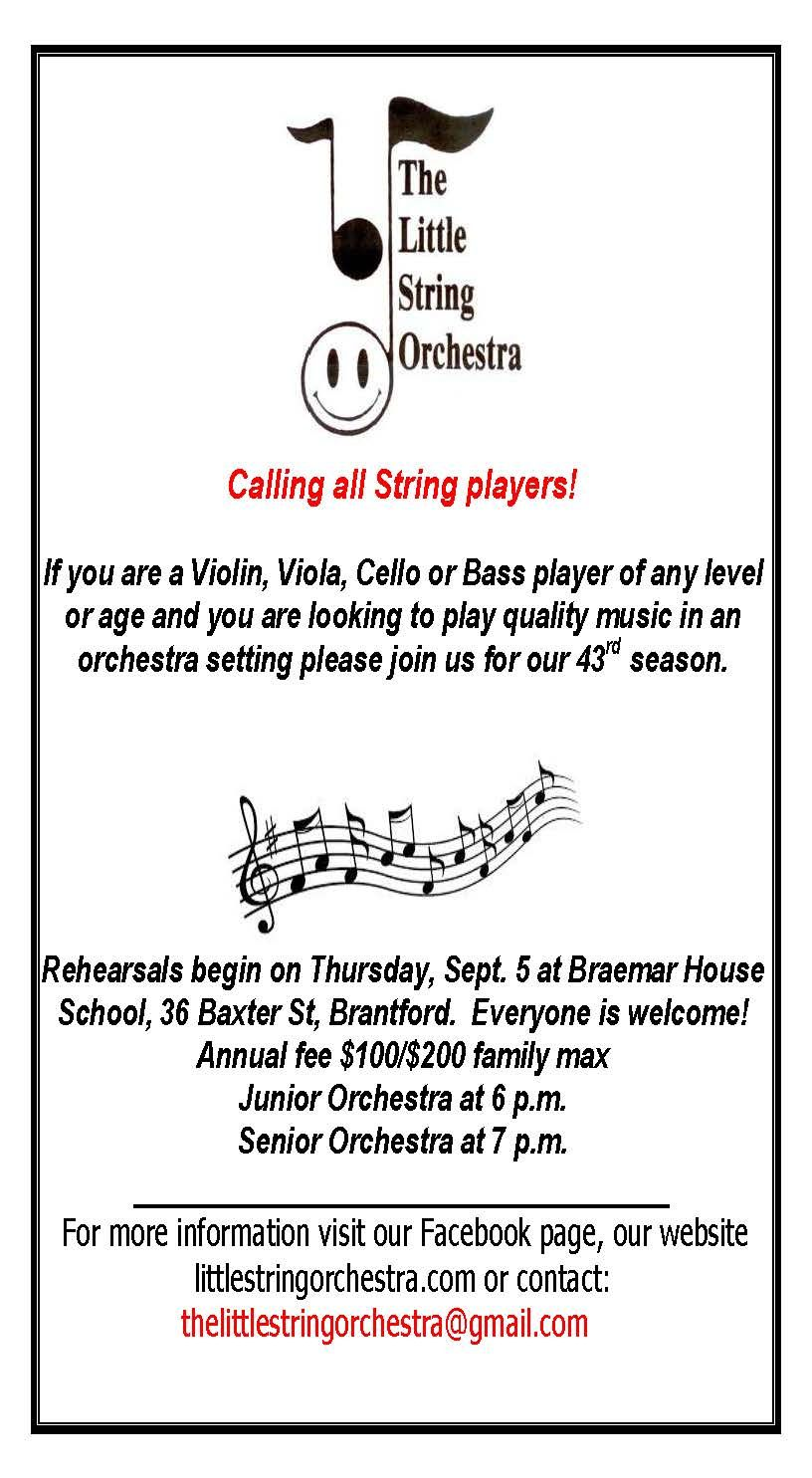 Little String Orchestra Rehearsals poster
