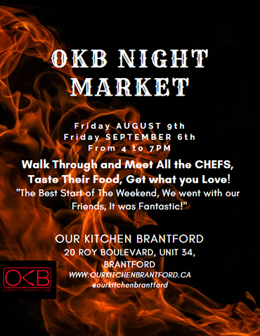 OKB Night Market poster