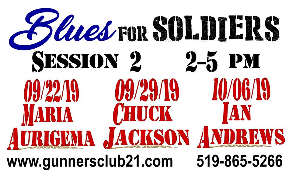 Blues For Soldiers - Sept 22