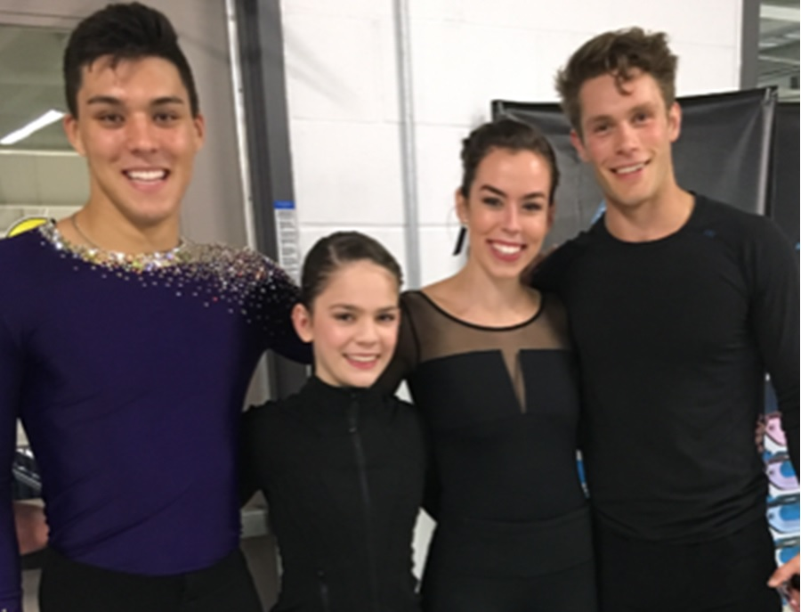 Brant Skating Club Medalists