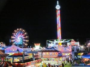 Paris Fair At Night