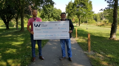 Nith River Trails Cheque to County
