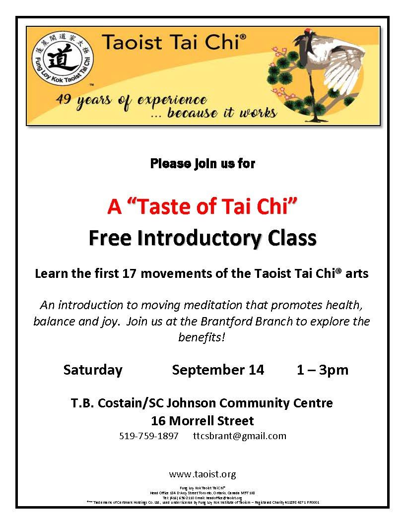 A Taste of Tai Chi poster
