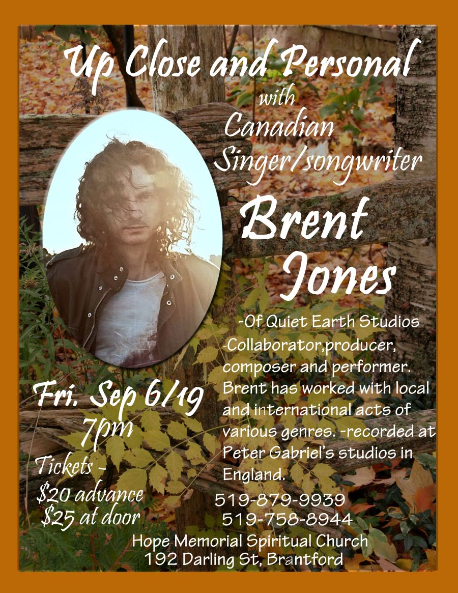 Up Close and Personal with Brent Jones poster