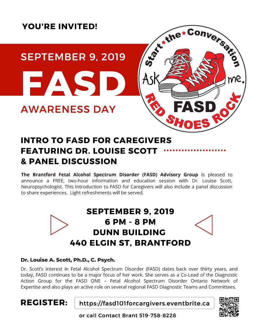 FASD Awareness Day poster