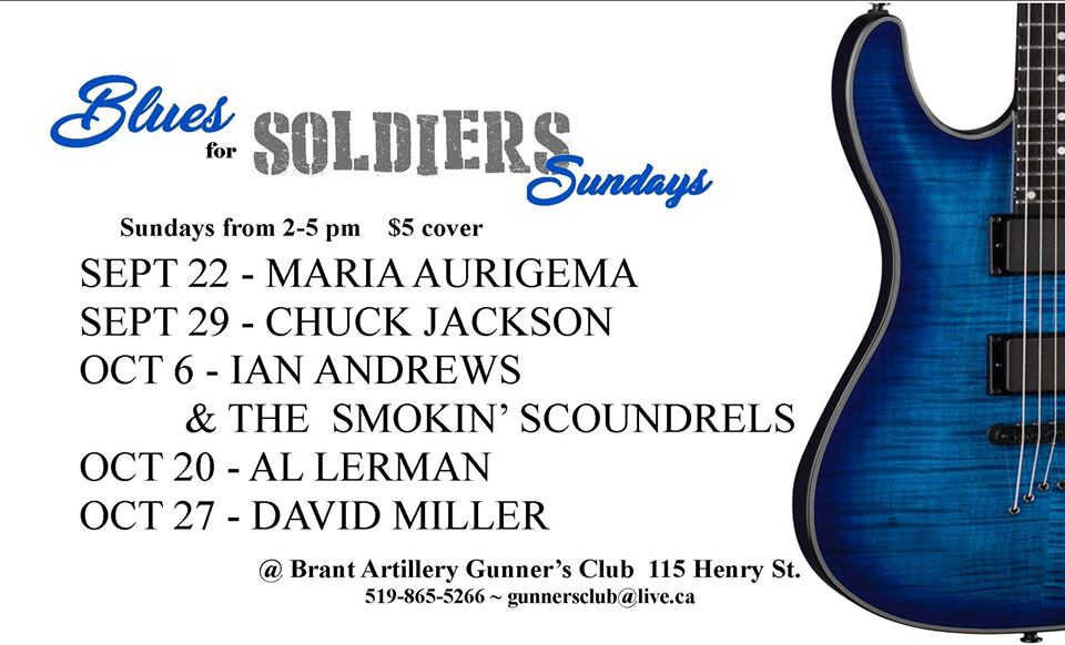 Blues For Soldiers Oct 2019