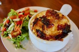 Blue Dog Cafe - Bacon Mac & Cheese
