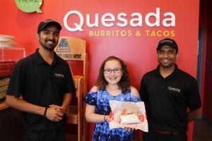 Quesada - Happy Customer