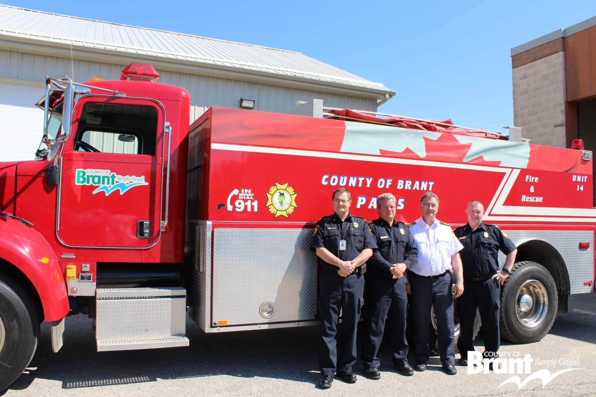 County of Brant Fire - Paris Staff