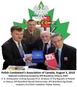 Walter Gretzky Medal - With Ambassador