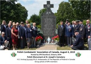 St Josephs Cemetery Polish Monument