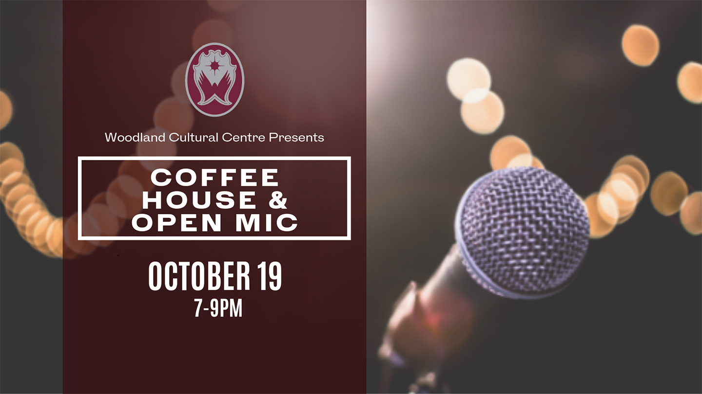 Coffee House & Open Mic poster
