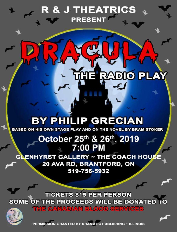 Dracula, The Radio Play poster