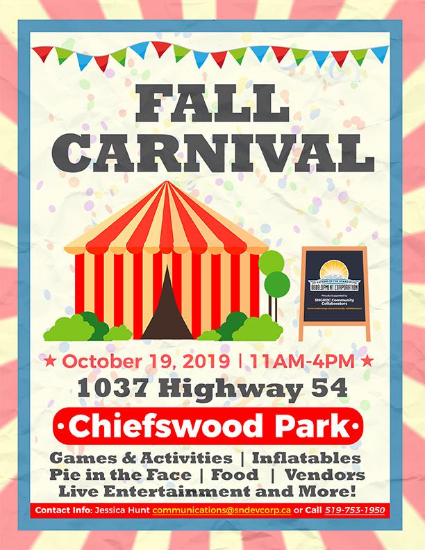 Fall Carnival poster