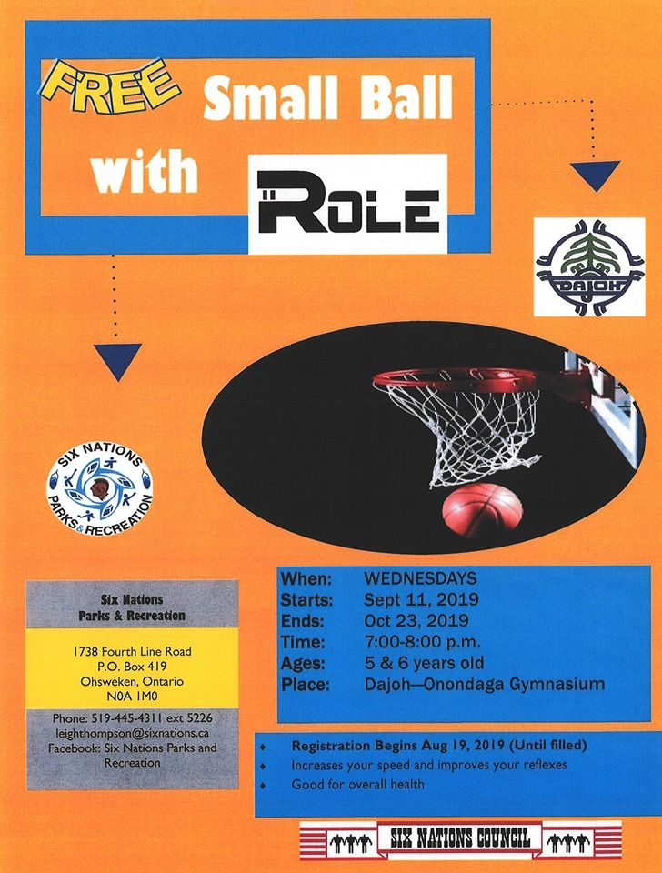 Free Small Ball with Role poster