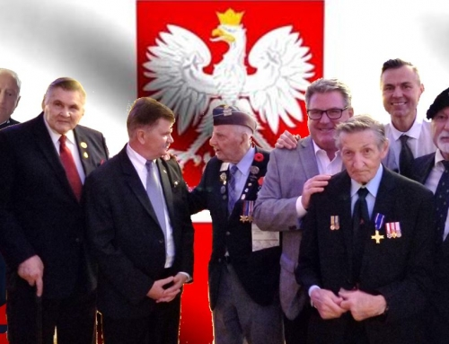 Walter Gretzky Honoured with the Gold Polish Combatants' Cross