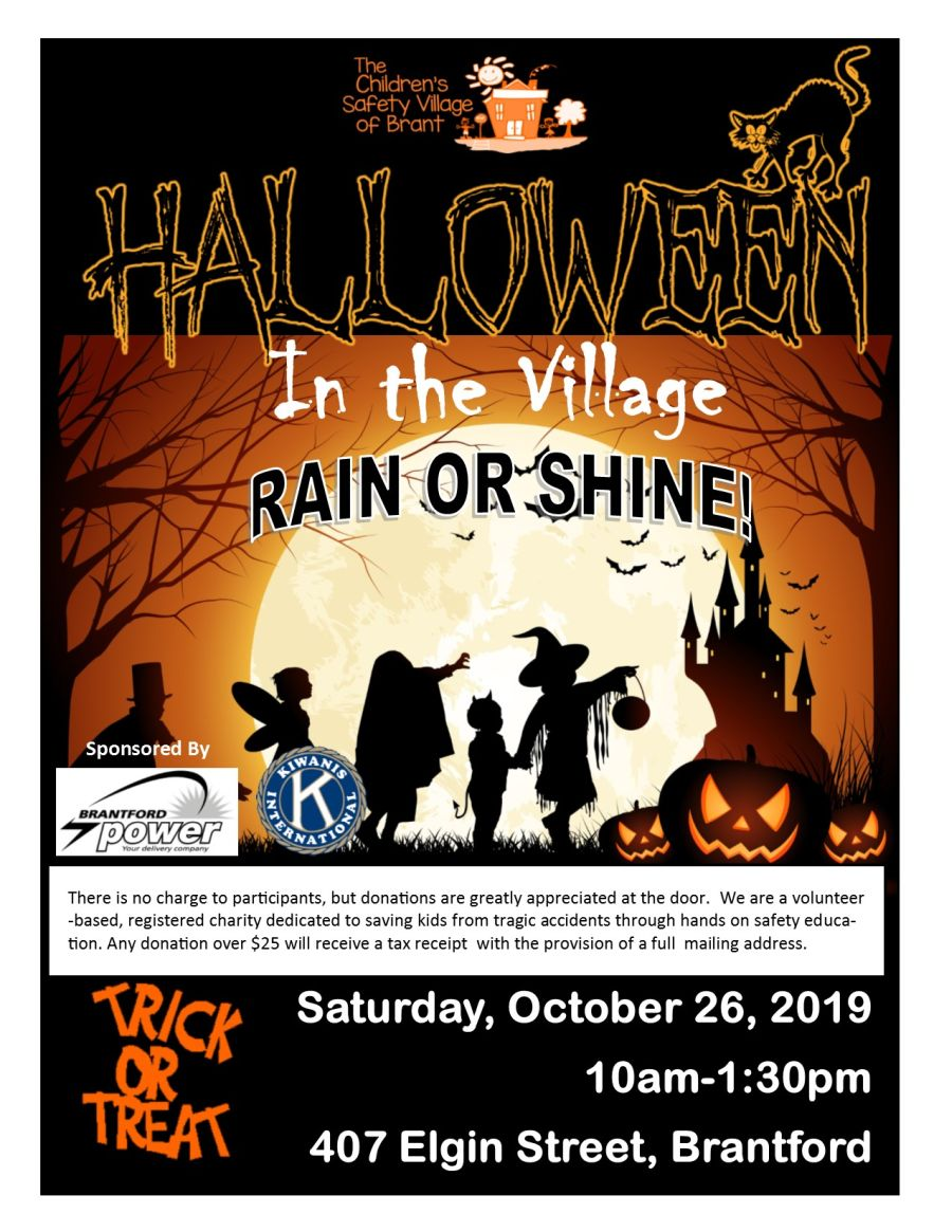 Halloween In the Village poster