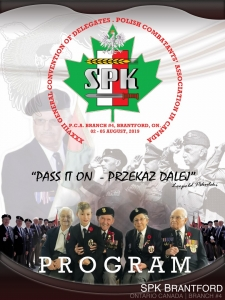 Walter Gretzky Medal - Program Cover