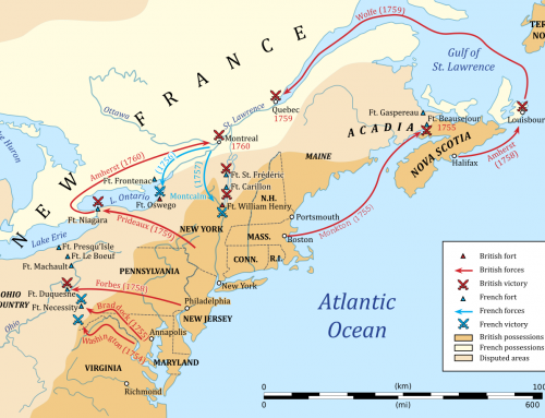 History: Settlement and Political Division – New France