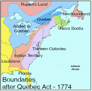 Quebec 1763 And 1774