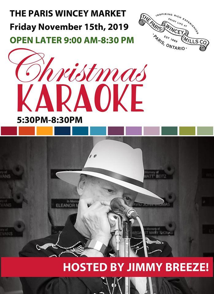 Christmas Karaoke at Wincey Mills