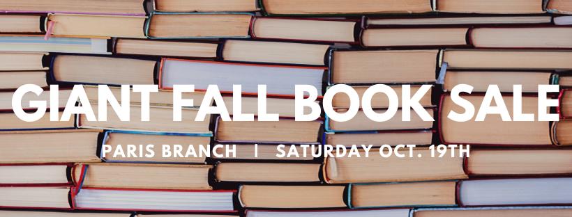 Giant Fall Book Sale
