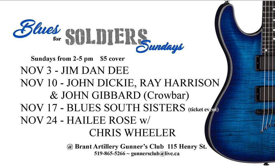Blues For Soldiers November 2019