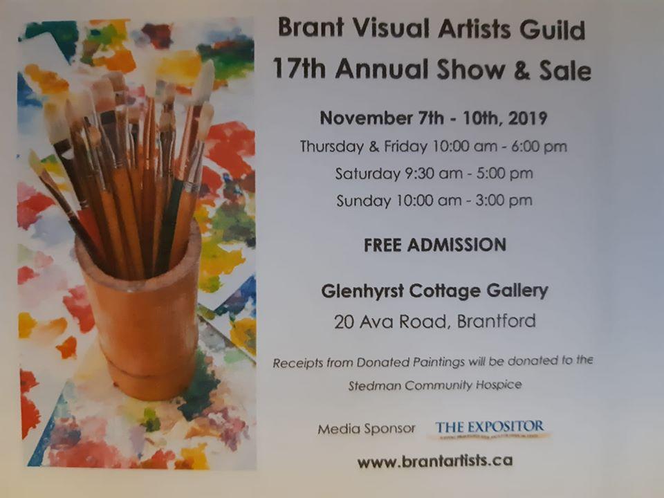Brant Visual Artists' Guild Show & Sale 2019