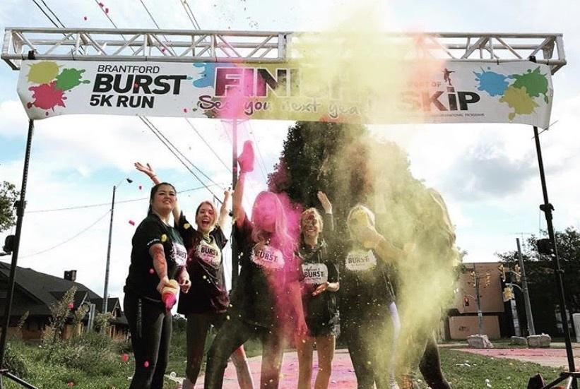 Brantford Burst 2019 - Finish Line