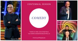 Sanderson Centre - Comedy