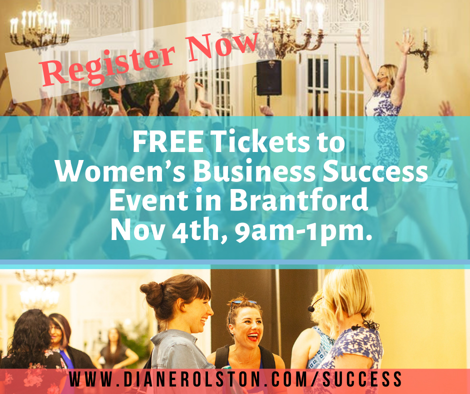 FREE Tickets to Women's Business Success Event poster