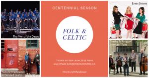 Sanderson Centre - Folk & Celtic