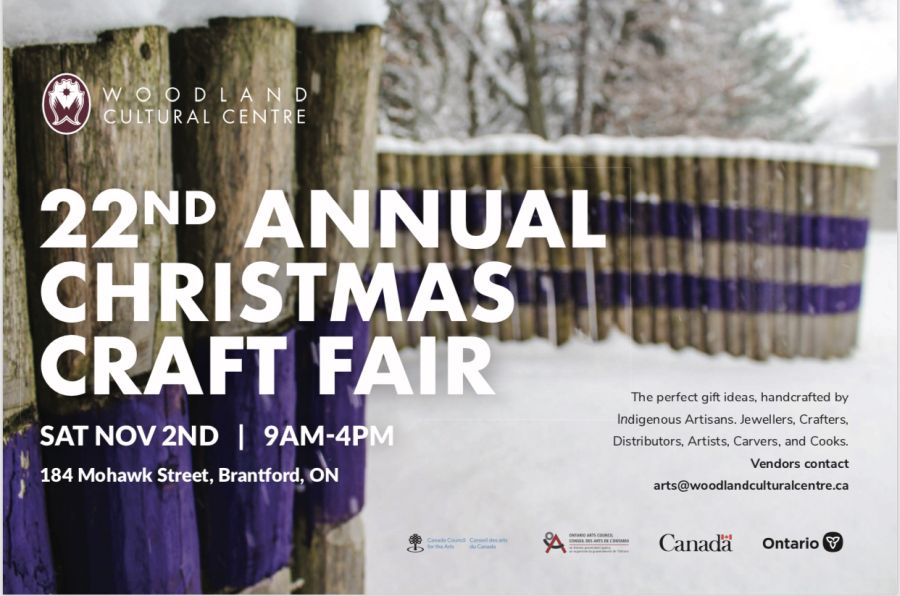 22nd Annual Christmas Craft Fair poster