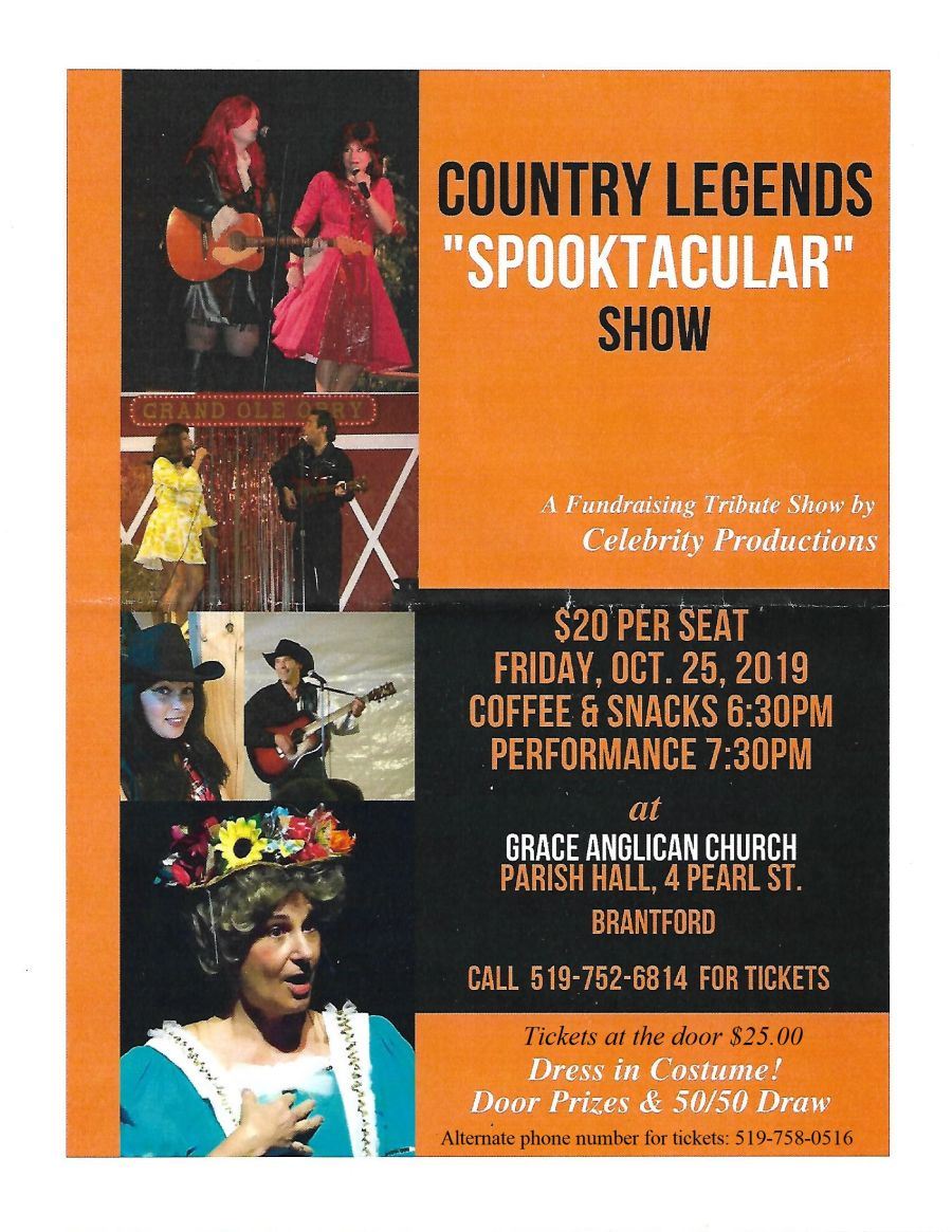 Country Legends Spooktacular Show poster
