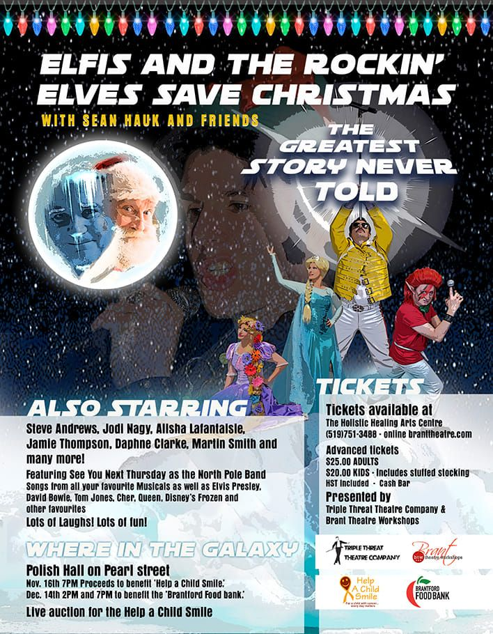 Elfis and the Rockin' Elves Save Christmas poster