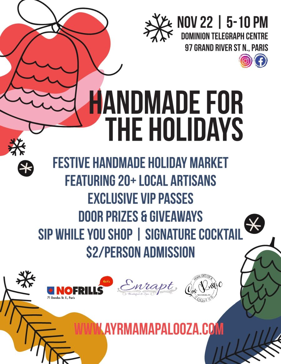 Handmade for the Holidays poster