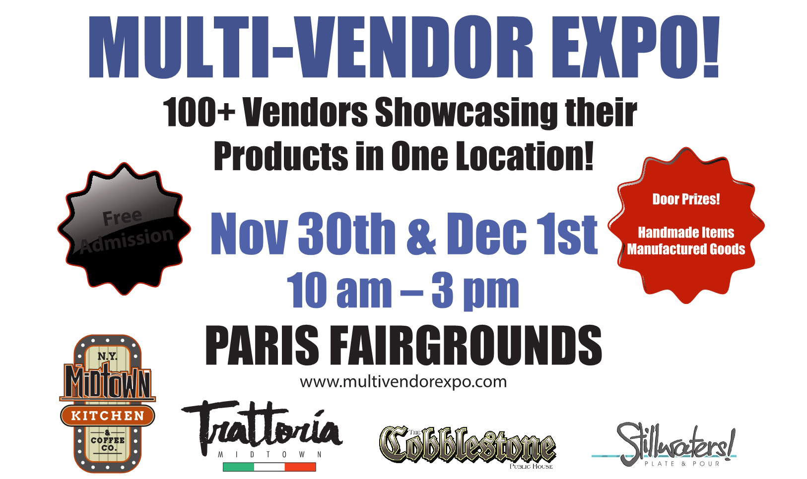 Multi Vendor Expo poster