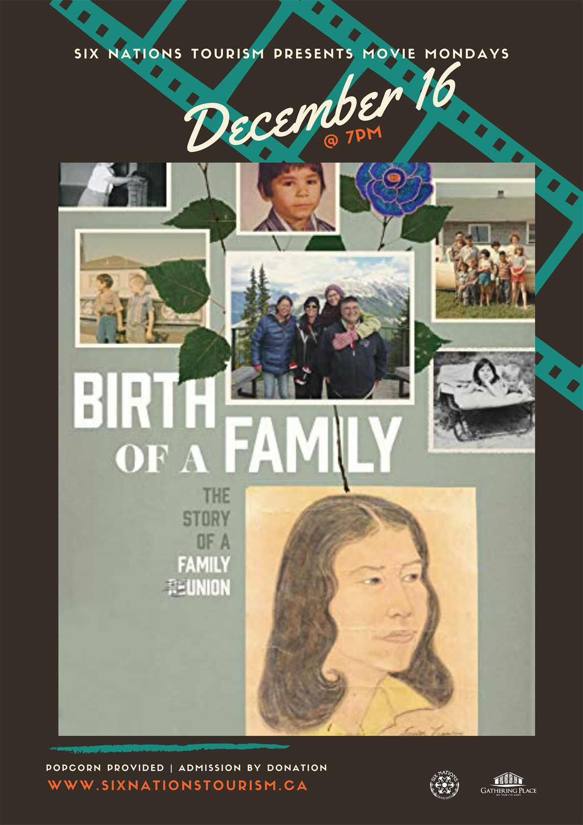 Six Nations Tourism presents Movie Night: Birth of a Family poster