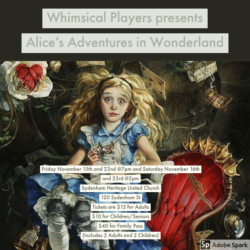 Whimsical Players - Alice's Adventures in Wonderland