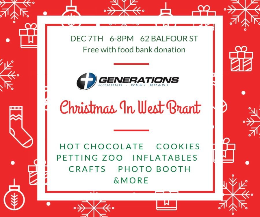 Christmas in West Brant poster