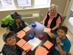 Kids & Senior plays Games - SKIP