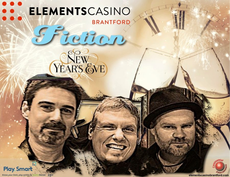 New Year's Eve with Fiction poster