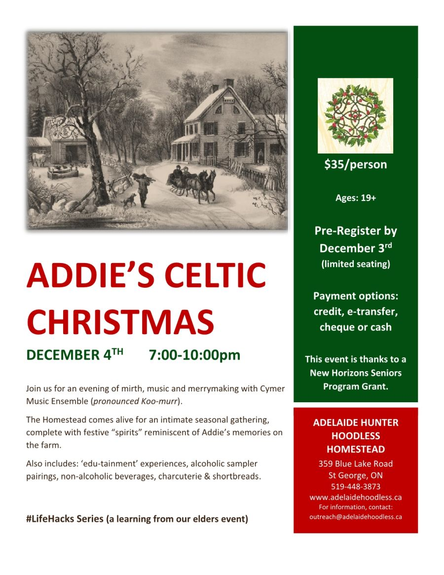 Addie's Celtic Christmas poster