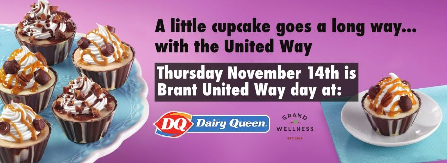 United Way Cupcake Day banner