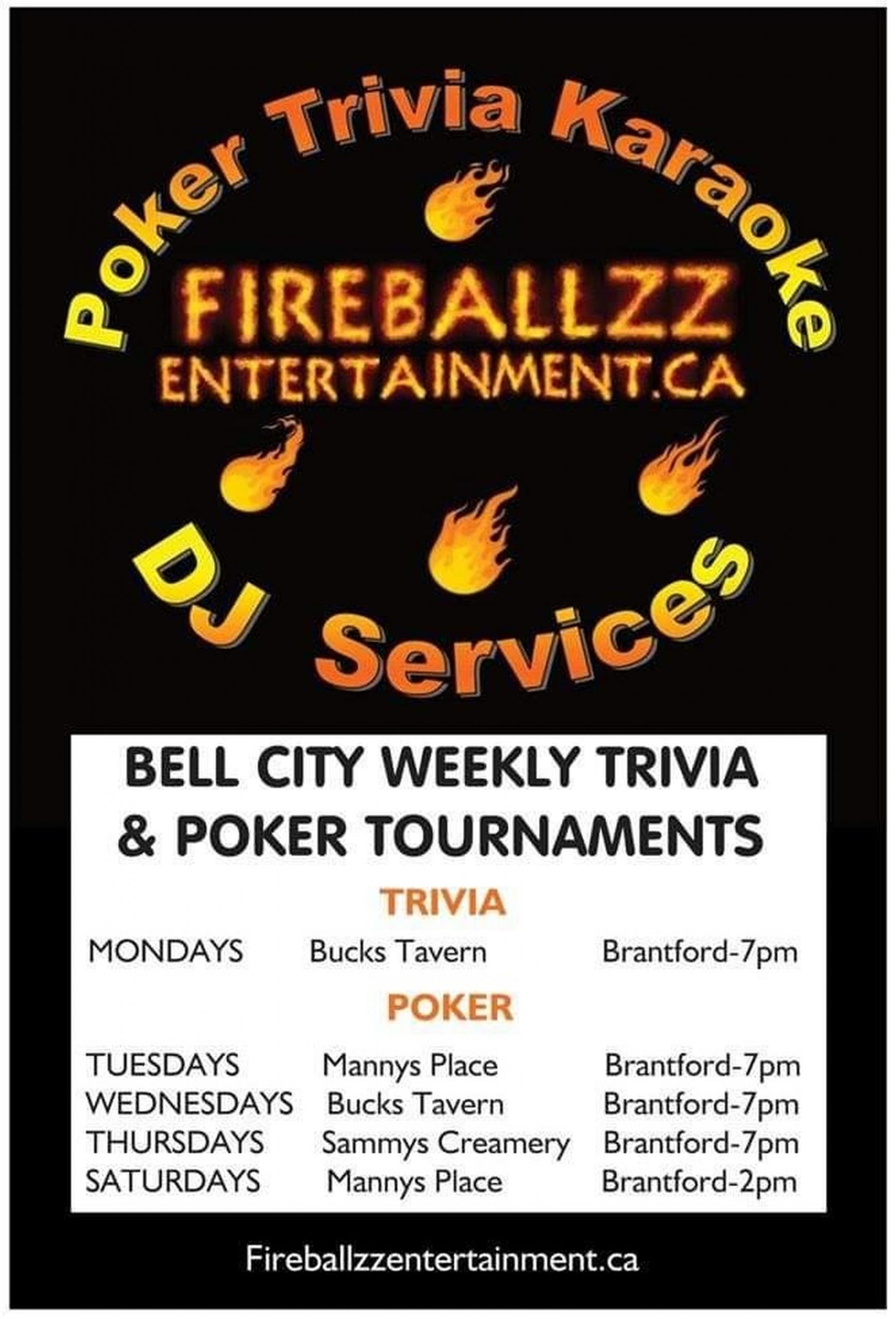 Fireballzz Entertainment poster